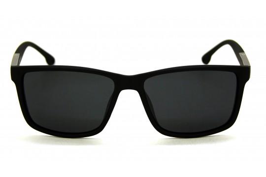 Óculos de Sol Bamboo Masculino Preto Fosco - 1098PF