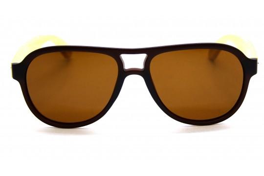Óculos de Sol Bambu Masculino Marrom - 2002M