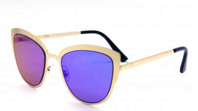 Óculos Metal Feminino Flat Le...
