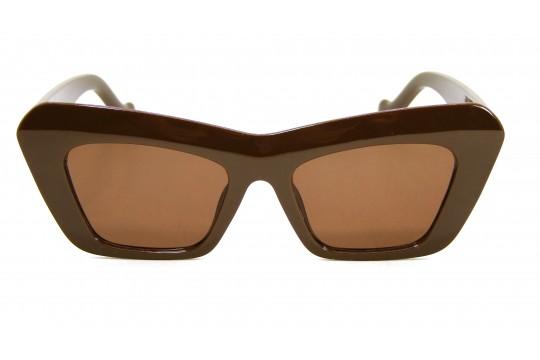 Óculos de Sol Acetato Feminino Marrom - 5018M