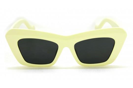 Óculos de Sol Acetato Feminino Creme - 5018N