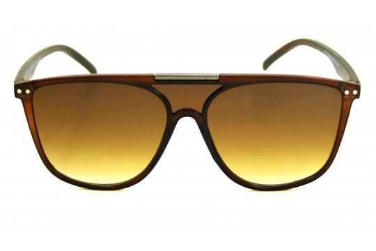 Óculos de Sol Acetato Unissex Marrom - 59006M