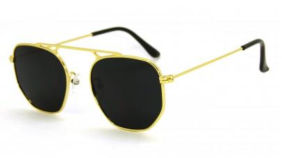 Óculos de Sol Metal Hexagonal...