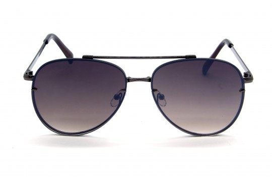 Óculos de Sol Metal Flat Lens Unissex Grafite Degradê - 71018GD