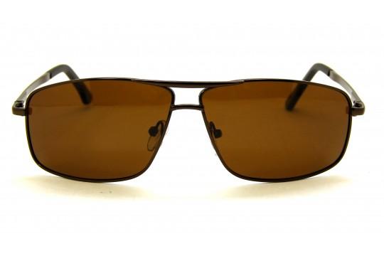 Óculos de Sol Metal Masculino Bronze - AG31013B