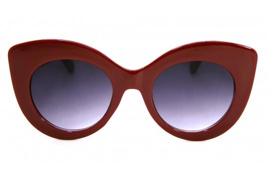 Óculos de Sol Acetato Feminino Vermelho - E12020V