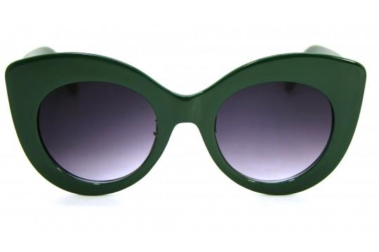 Óculos de Sol Acetato Feminino Verde - E12020VD