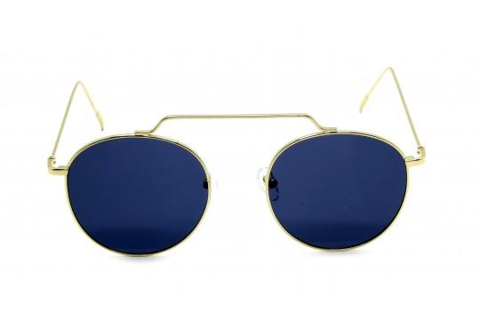 Óculos Metal Unissex Dourado Lt Preto - HT0992DP