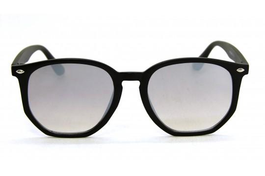 Óculos de Sol Acetato Unissex Preto Lt Prata - HP1854PP