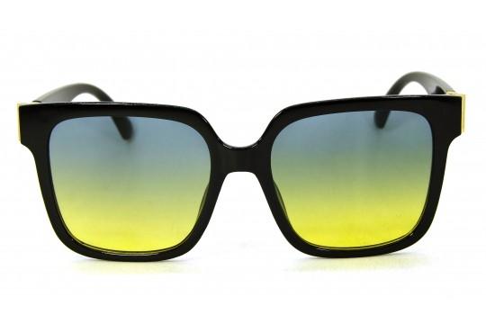 Óculos de Sol Acetato Feminino Preto Lt Verde - HP202280PV