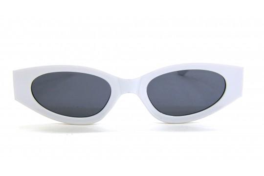 Óculos de Sol Acetato Feminino Retro Branco - HP202298B