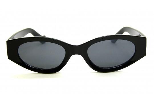 Óculos de Sol Acetato Feminino Retro Preto - HP202298P