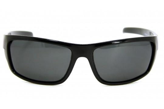 Óculos de Sol Acetato Masculino Esportivo Preto c/ Azul - HS0299PA