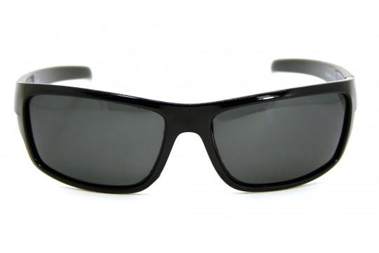 Óculos de Sol Acetato Masculino Esportivo Preto c/ Cinza - HS0299PC