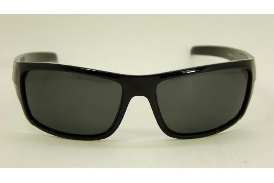 Óculos de Sol Acetato Masculino Esportivo Preto c/ Vermelho - HS0299PV