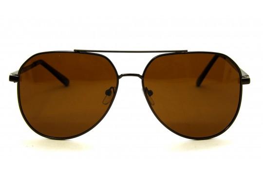 Óculos de Sol Metal Unissex Bronze - HT202075B