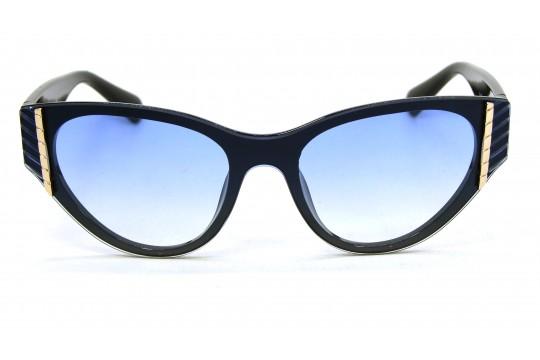 Óculos de Sol Acetato Feminino Preto Lt Azul - XR5318PA