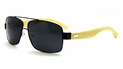 Óculos de Sol Metal Bambu Mas...